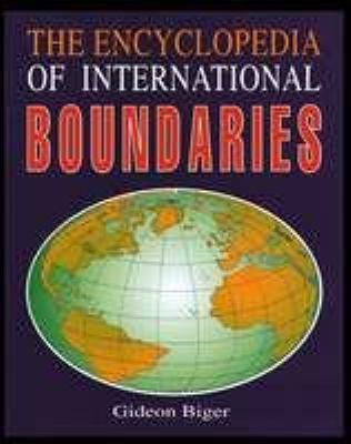 Encyclopedia of International Boundaries 9780816032334