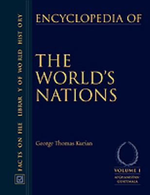 Encyclopedia of the World's Nations, 3- Volume Set 9780816041398