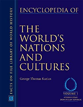 Encyclopedia of the World's Nations and Cultures, 4- Volume Set 9780816063079