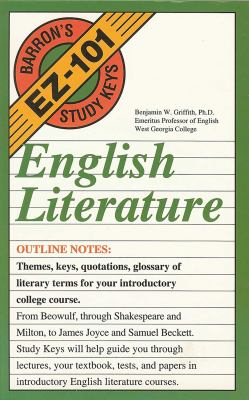 English Literature English Literature 9780812046007