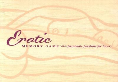 Erotic Memory Game [With Wooden Tiles] 9780811838467