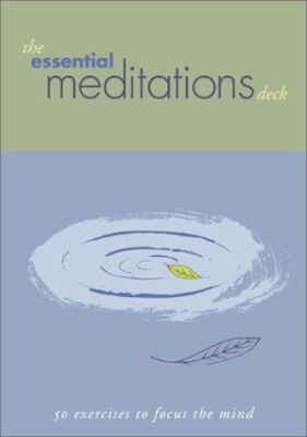 Essential Meditations Deck: 50 Everyday Exercises 9780811833264