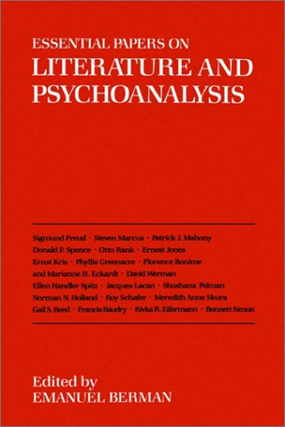 Essential Papers on Literature and Psychoanalysis 9780814711859