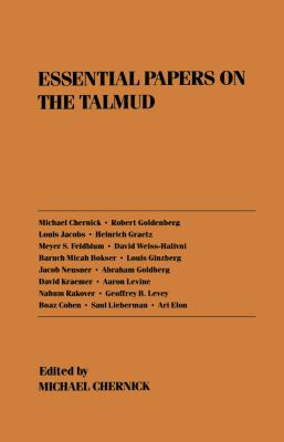 Essential Papers on Talmud 9780814715055