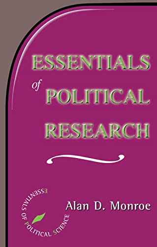 Essentials of Political Research 9780813368665