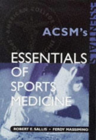 Essentials of Sports Medicine 9780815101574