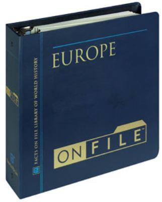 Europe on File& #153; 9780816035083