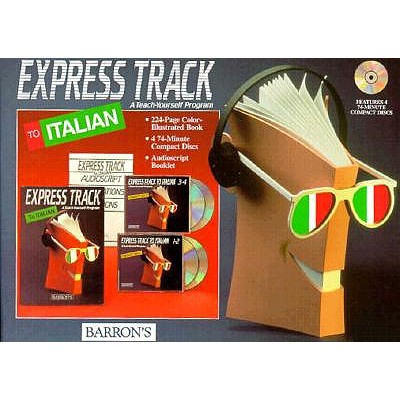 Express Track to Italian (Book with CDs) 9780812078961