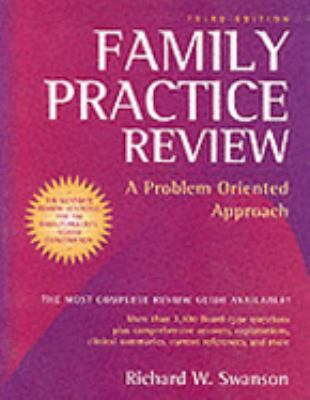Family Practice Review: A Problem Oriented Approach 9780815186243