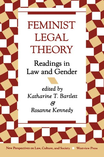 Feminist Legal Theory: Readings in Law and Gender 9780813312484
