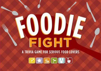 Foodie Fight: A Trivia Game for Serious Food Lovers [With 6 Gameboards, Dice, 168 Cards and Game Pieces] 9780811858649
