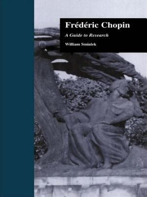 Fredric Chopin: A Research and Information Guide 9780815321804