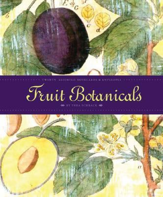 Fruit Botanicals: 20 Assorted Notecards & Envelopes (5 Images, 4 of Each) 9780811853378