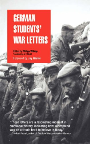 German Students' War Letters 9780812218169