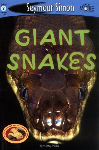 Giant Snakes 9780811854115