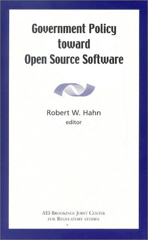 Government Policy Toward Open Source Software