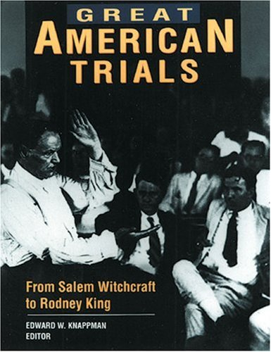 Great American Trials 9780810391345