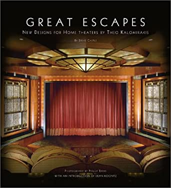 Great Escapes: New Designs for Home Theaters by Theo Kalomirakis 9780810946569
