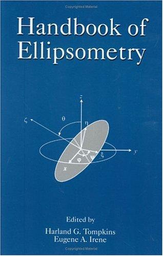 Handbook of Ellipsometry 9780815514992