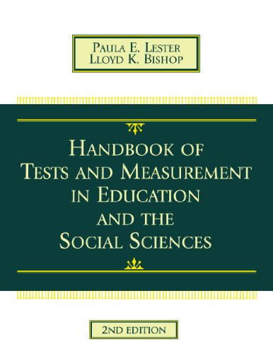 Handbook of Tests and Measurement in Education and the Social Sciences: 9780810838635