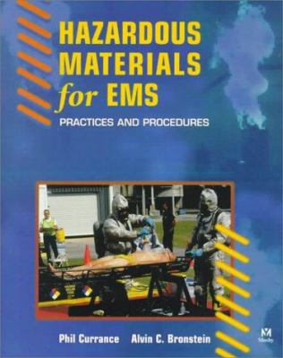 Hazardous Materials for EMS: Practices and Procedures 9780815119845