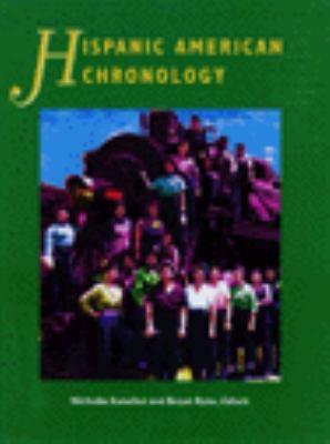 Hispanic American Chronology 9780810398269