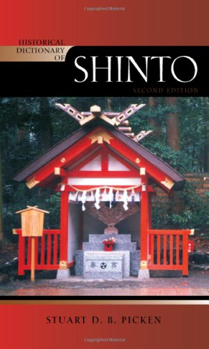 Historical Dictionary of Shinto 9780810871724
