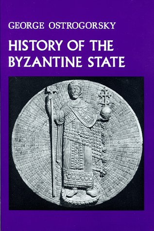 History of the Byzantine State 9780813511986