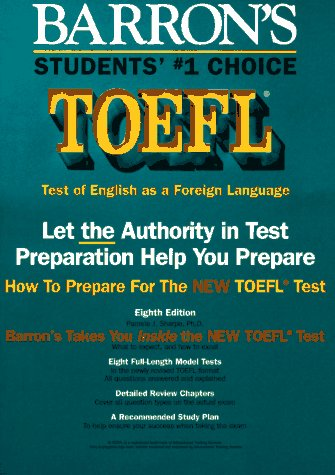 How to Prepare for the TOEFL: Test of English as a Foreign Language 9780812094077