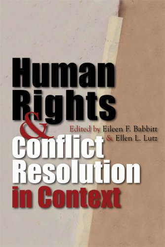 Human Rights & Conflict Resolution in Context: Colombia, Sierra Leone, & Northern Ireland 9780815632054