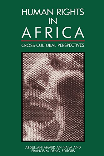 Human Rights in Africa: Cross-Cultural Perspectives 9780815717959