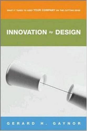 Innovation by Design 9780814406960