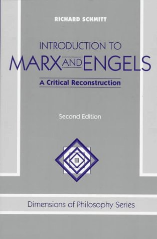 Introduction to Marx and Engels: A Critical Reconstruction, Second Edition 9780813332833