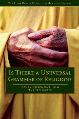 Is There a Universal Grammar of Religion? 9780812696448