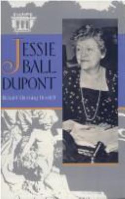 Jessie Ball DuPont 9780813011349