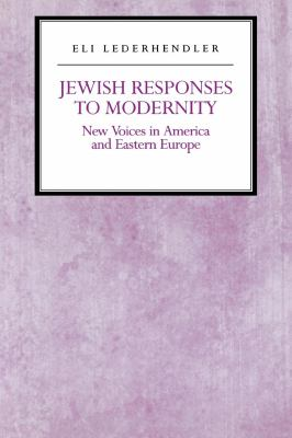 Jewish Responses to Modernity 9780814751381