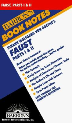 Johann Wolfgang Von Goethe's Faust, Parts I and II 9780812035148