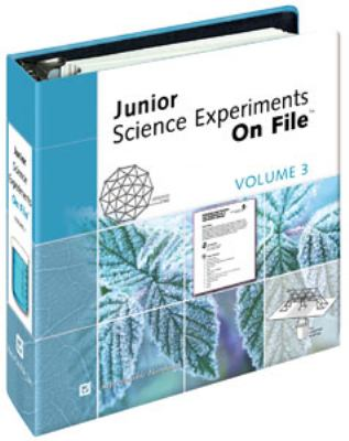 Junior Science Experiments on File& #153; Volume 3 9780816061877