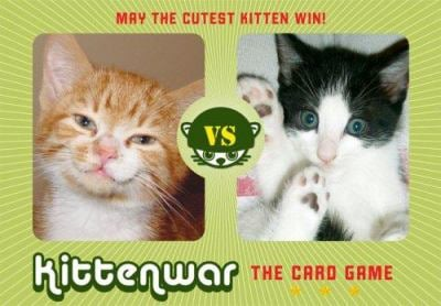 Kittenwar Card Game: May the Cutest Kitten Win! 9780811859851