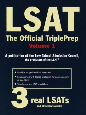 LSAT: The Official Triple Prep, Volume 1 9780812932447