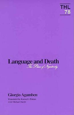 Language and Death: The Place of Negativity 9780816619375