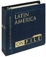 Latin America on File& #153; 9780816032259
