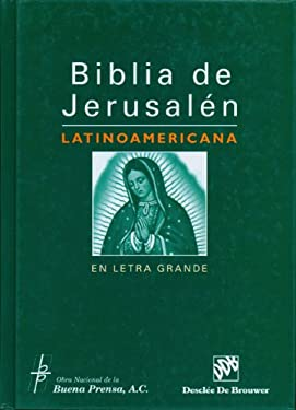 Latin American Bible of Jerusalem in Large Print 9780814642771