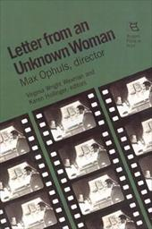 Letter from an Unknown Woman: Max Ophuls, Director 16462980