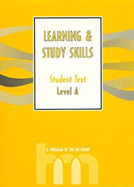Level A: Student Text: Hm Learning & Study Skills Program 9780810838109