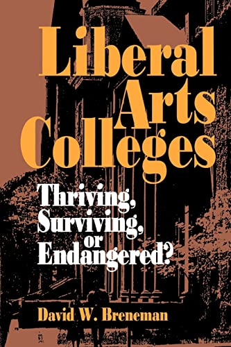Liberal Arts Colleges 9780815710615