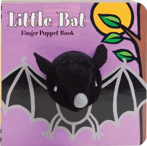 Little Bat Finger Puppet Book [With Finger Puppets] 9780811875141