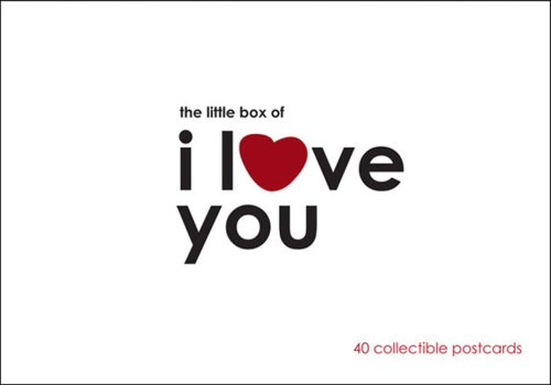 Little Box of I Love You Postcards 9780811860147
