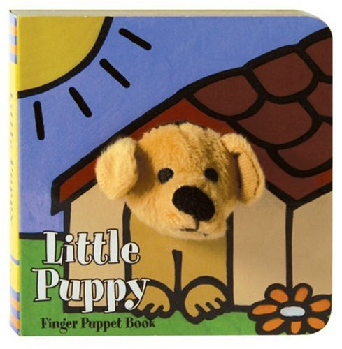 Little Puppy Finger Puppet Book 9780811857710