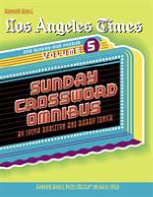 Los Angeles Times Sunday Crossword Omnibus 9780812936834